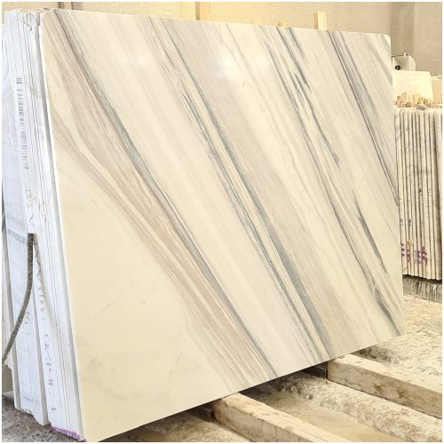 Volakas White Greek Marble type 3