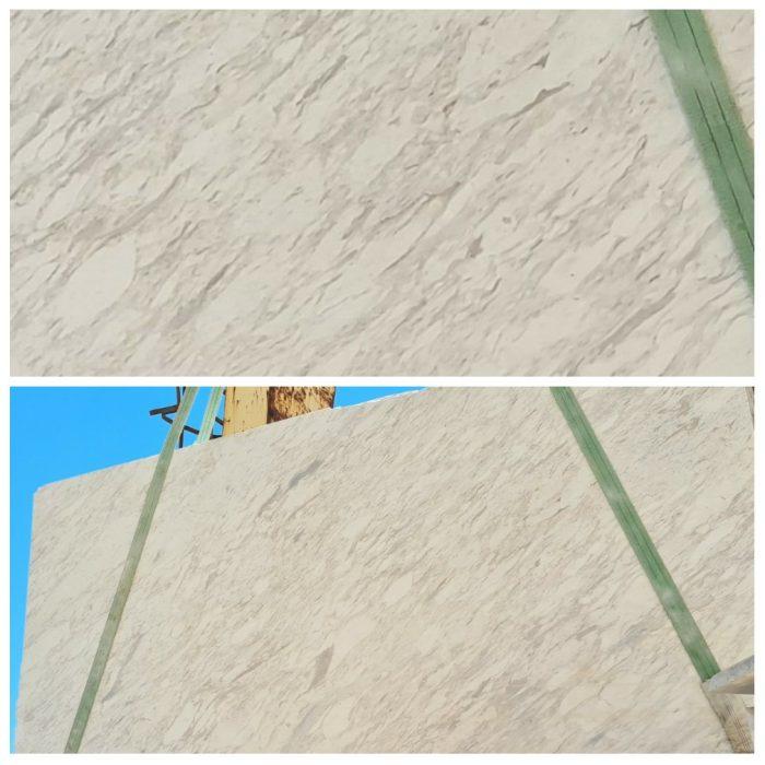 Volakas White Greek Marble type 4